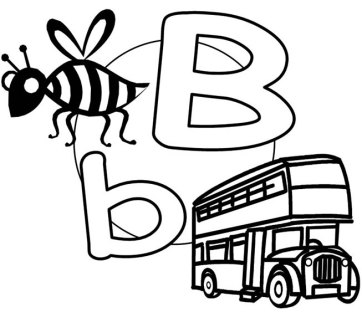 Bb-Bus-The-English-Alphabet - GiveMeSomeEnglish!!!