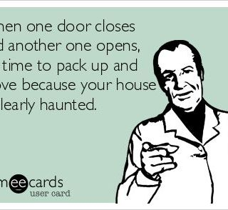 """""""When One Door Closes, Another Door Opens"""" (Metaphorical Aphorism, Expression, Interjection, Proverb, & Saying) GiveMeSomeEnglish!!!"""