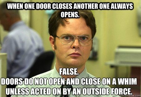 When One Door Opens (False) - GiveMeSomeEnglish!!!