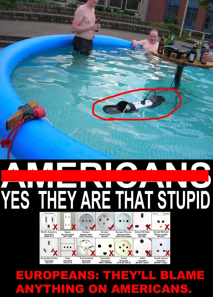 Americans vs Europeans (and Russians) - GiveMeSomeEnglish!!!