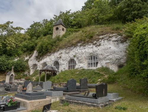 Eglise troglodyte de l'Annonciation de Haute-Isle