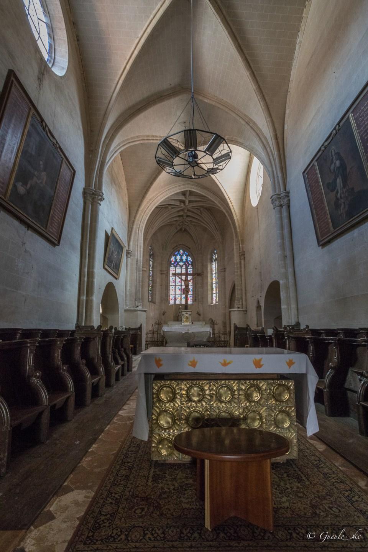 Nef - Eglise Saint-Ferreol
