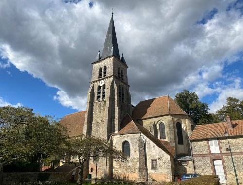 Eglise Saint-Germain d'Auxerre, Marles-en-Brie, Île-de-France, France