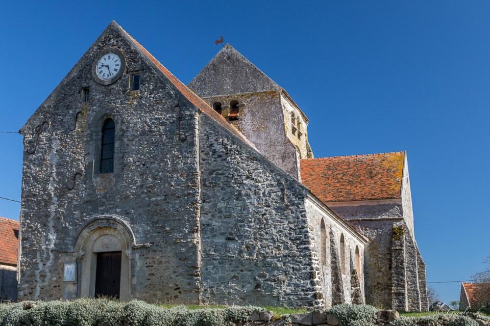Eglise Saint-Germain à Bézu-Saint-Germain