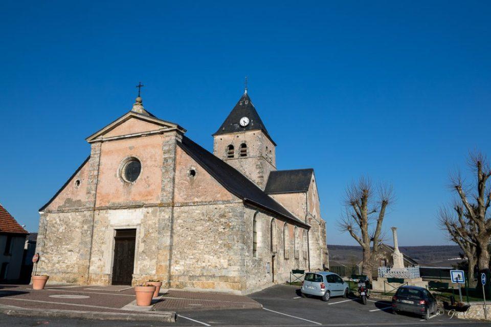 Eglise Saint-Maur à Fleury-la-Rivière