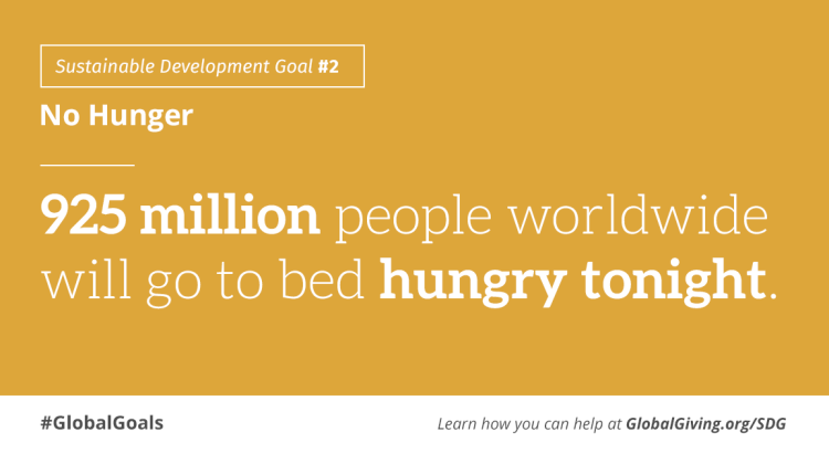 SDG #2 No Hunger