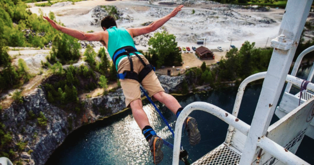 Lessons for Change from Bungee Jumping