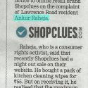 Notice issued by Court to ShopClues for sale above MRP