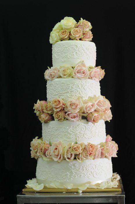 Wedding Cake Fleurs