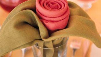 Diy Décoration Pliage De Serviette Robe Pour Babyshower