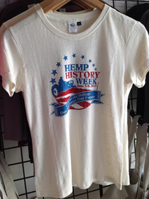 Hemp History Week Tshirt
