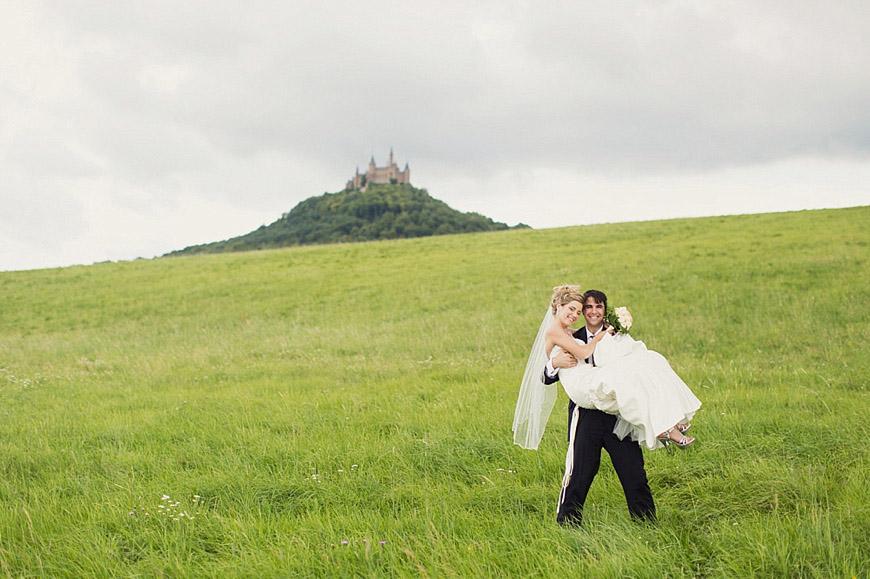Internationale Hochzeit auf der Burg Hohenzollern