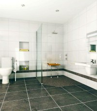 Roll in handicapped ADA shower design tips Cleveland ...