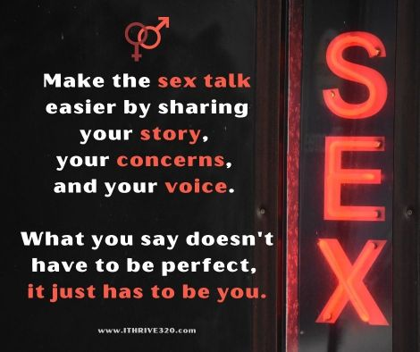 The sex talk made easier