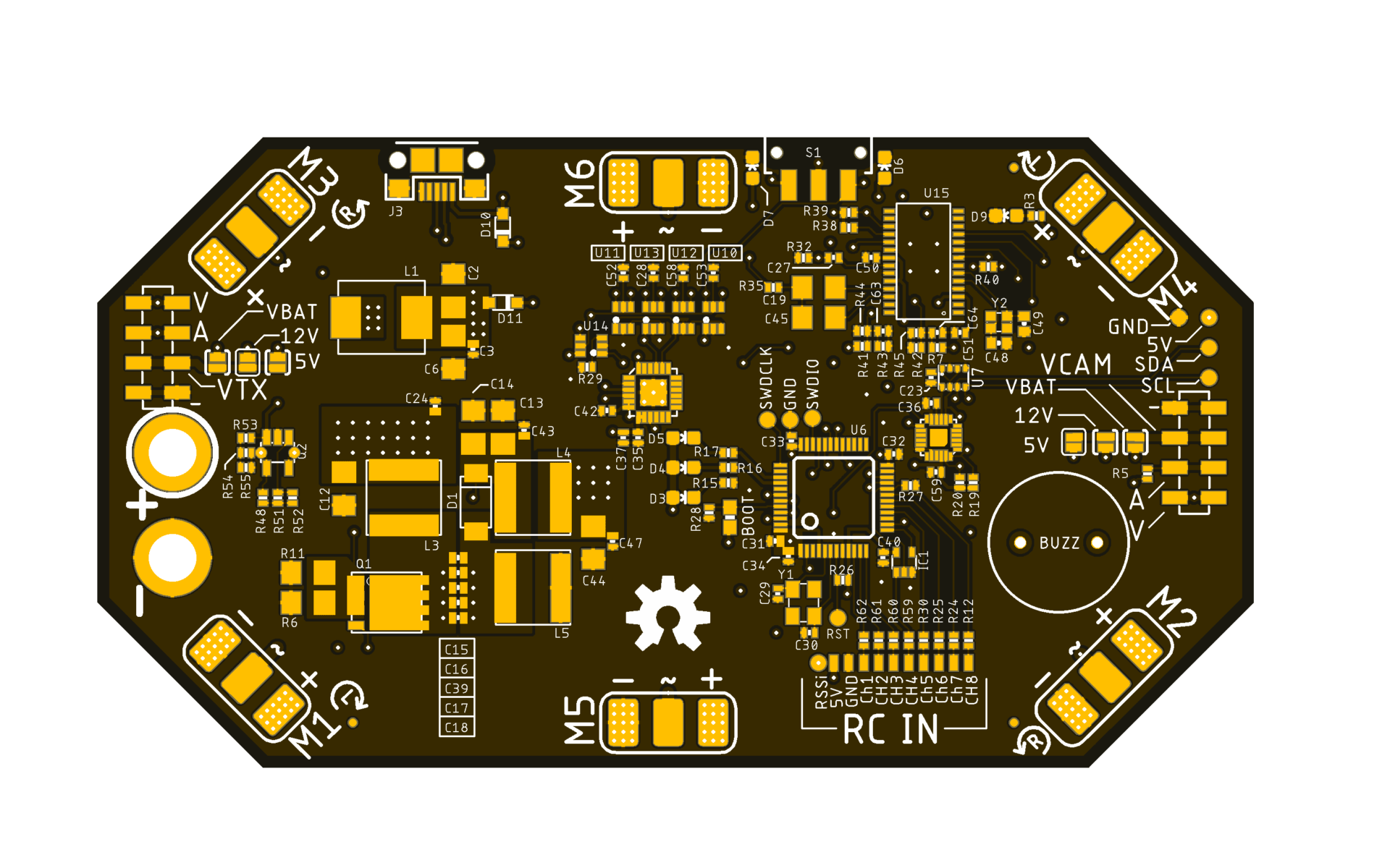 OpenAIO: An open-source, STM32 and Cleanflight-based flight