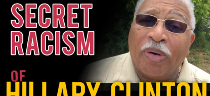 """Pastor speaks out! Racist Hillary wants to abort black babies- """"unborn have no rights"""""""