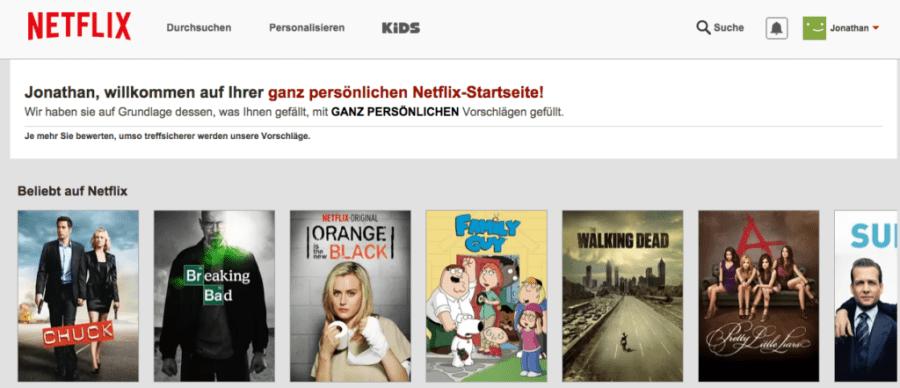 Netflix Schweiz 1