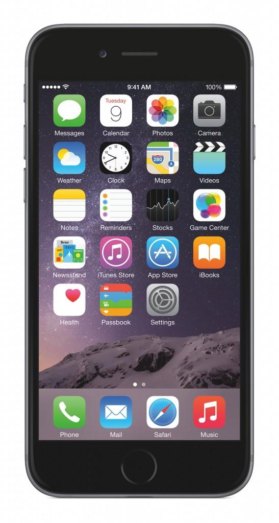 Der Homescreen unter iOS 8