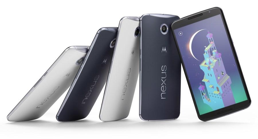 Nexus 6 mit Android Lollipop (Pressebild Google)