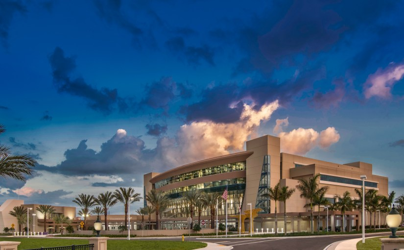 Photography of Pembroke Pines Civic Center for Stiles Corp.