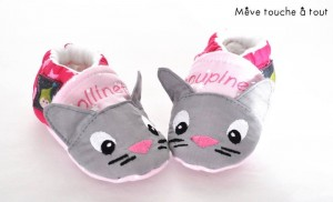 chausson bébé prénom
