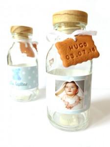 bouteille lait candy bar dragées