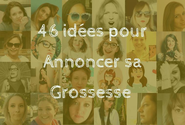 30 mamans blogueuses influentes révèlent 46 idées pour annoncer sa grossesse