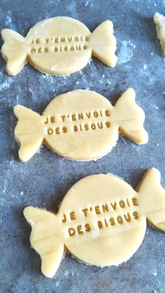 biscuit message bisous