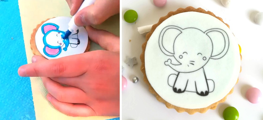 BISCUIT-COLORIAGE-elephant