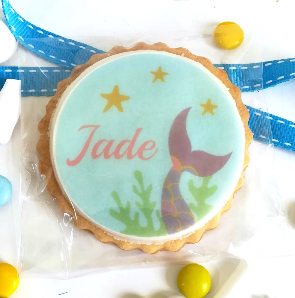 biscuit-personnalise-theme-sirene-anniversaire-bapteme