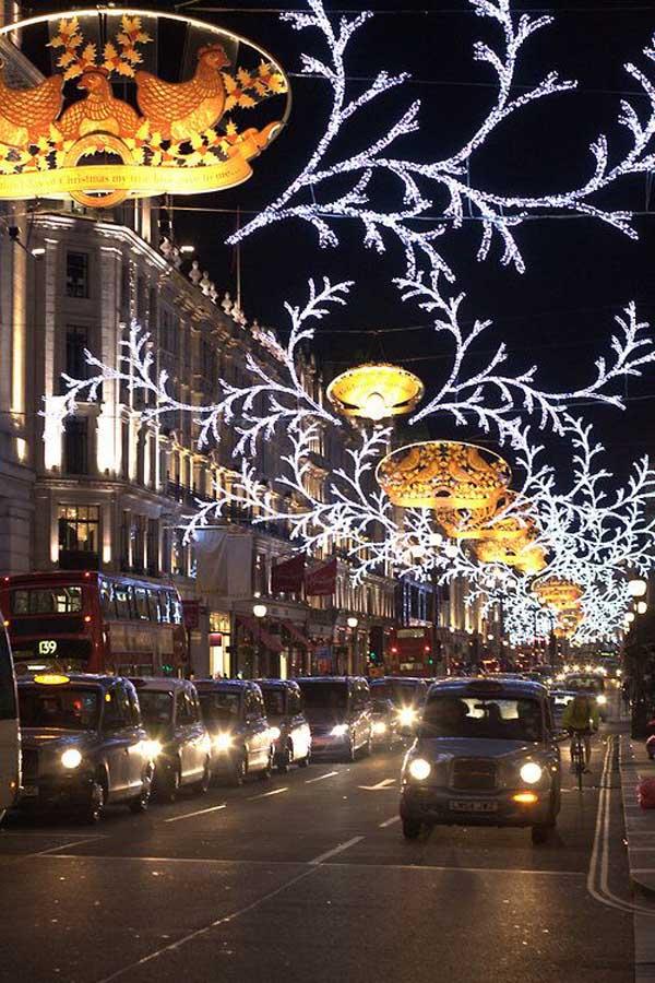 Especial iluminacin de Navidad