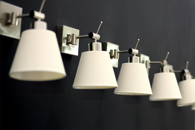 Apliques de pared algo ms que luz auxiliar