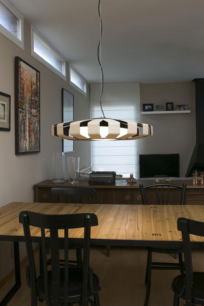 Lmparas de techo para comedor luz que se siente