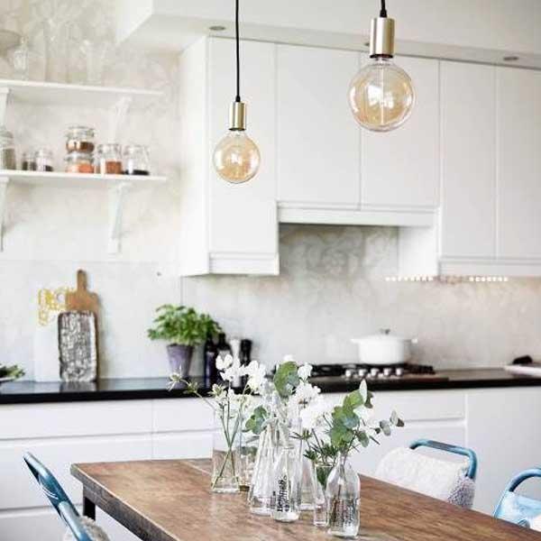 Grandes consejos e ideas para iluminar la mesa de tu
