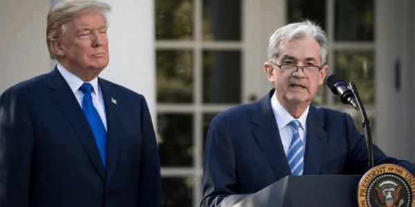 J Powell & D Trump