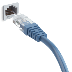 Ethernet is used to connect a computer to the internet.