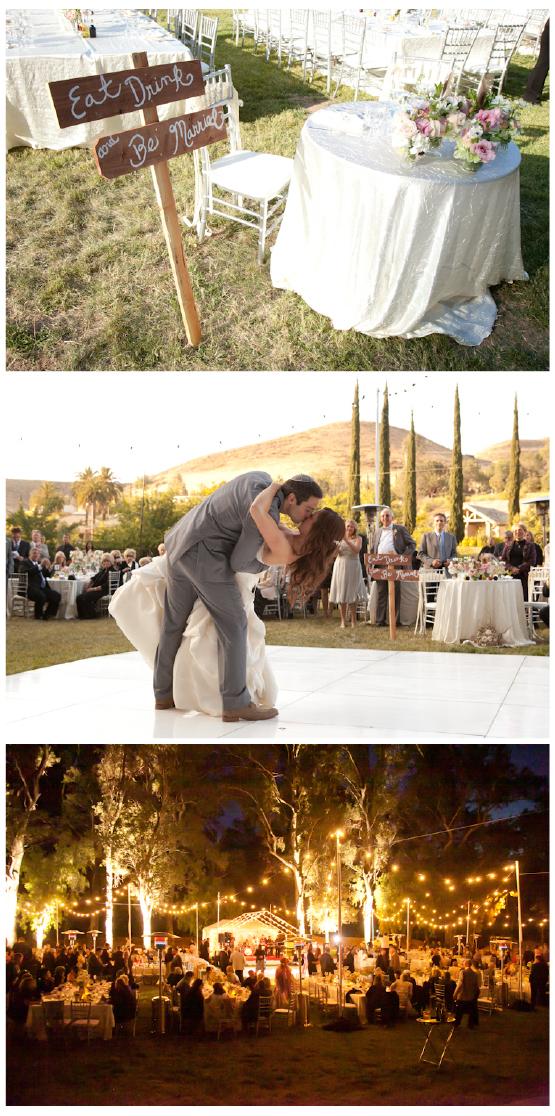 AS SEEN ON THE BRIDAL BAR Glamorous Summer Camp Wedding