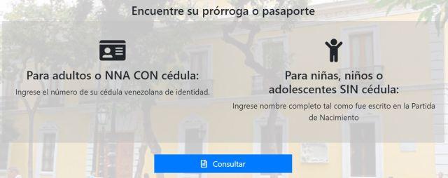 Retiro de prórroga de pasaporte venezolano en Chile