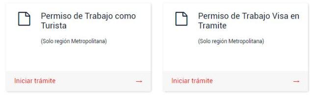 Permiso de trabajo Chile