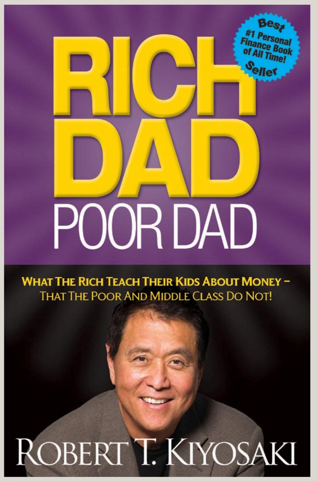 Buku Rich Dad Poor Dad: Memutarbalikkan Cara Pikir