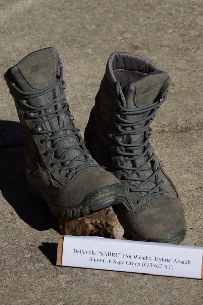4619fad322c0 Assault 693 Waterproof Flight Boot. Hot Weather Hybrid Assault Boot  Belleville