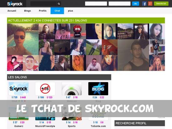 Chat Skyrock - Test & Avis
