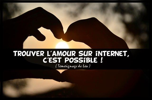 Trouver amour sur internet possible
