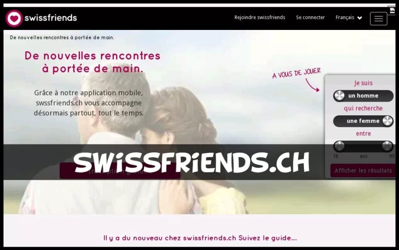 Swissfriends - test & avis