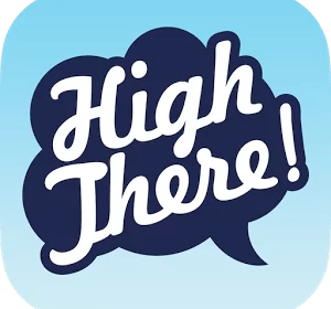 High There - Logo