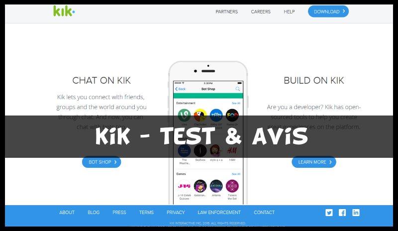 KIK - Test & Avis