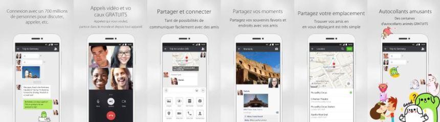 Apercu Interface - WeChat