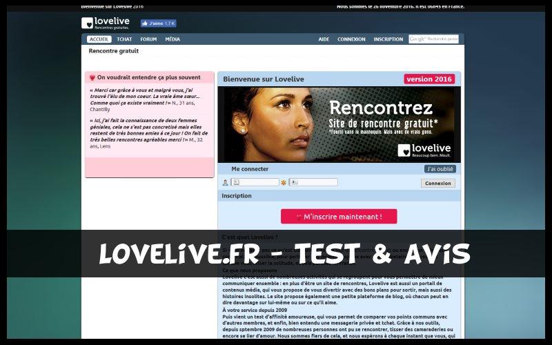 rencontre love live site de rencontre avec photos