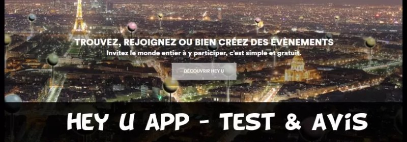 hey u app - test & avis