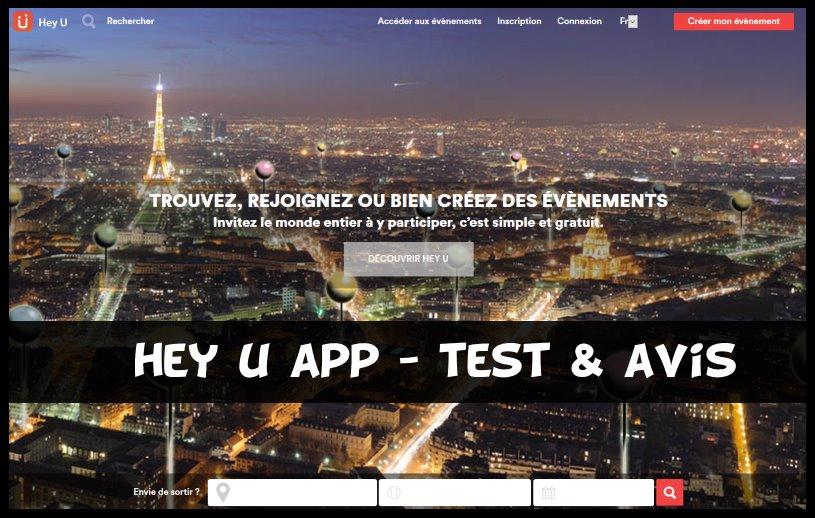 hey u app - test & avis